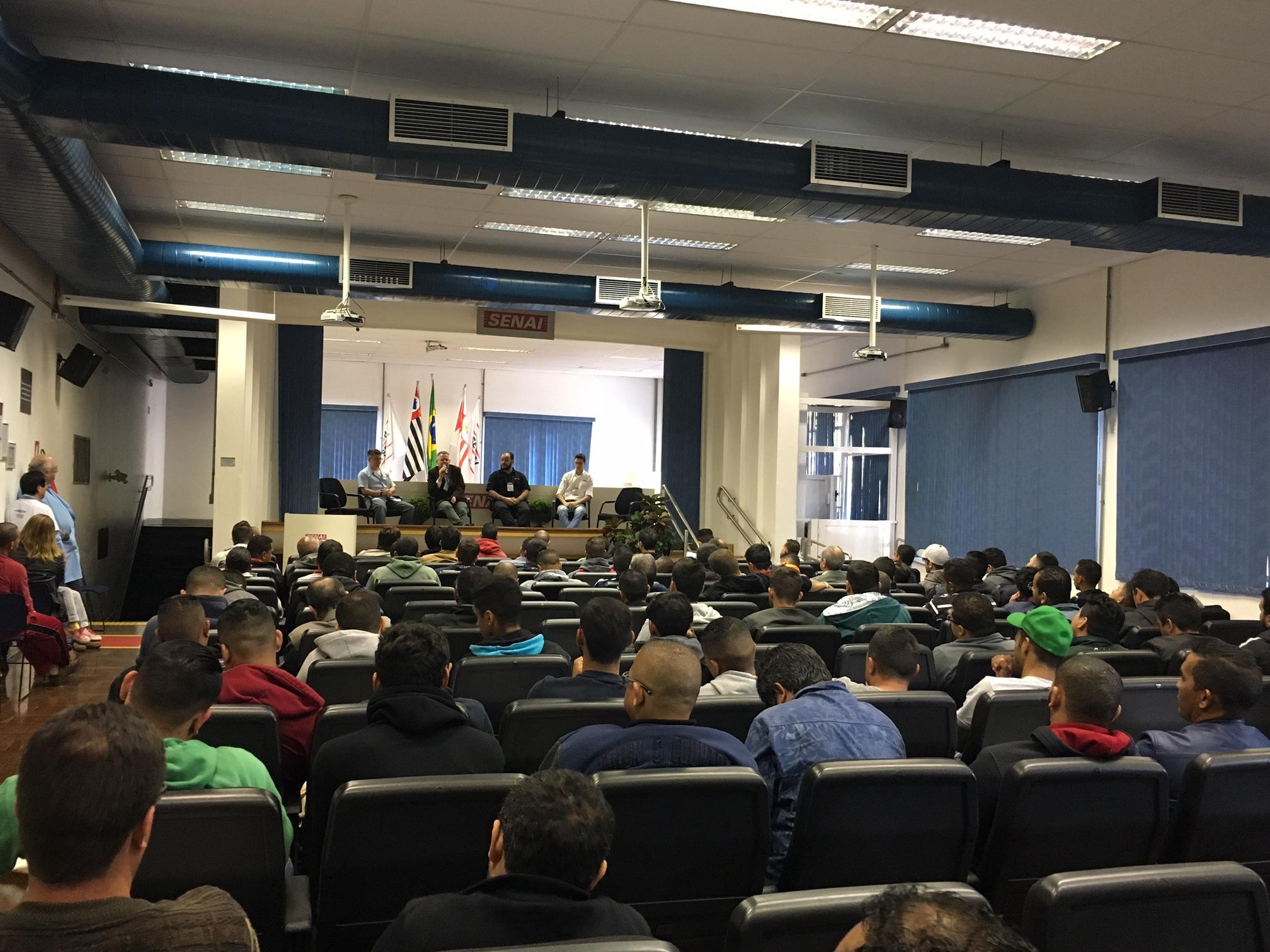 7ª SEMANA TECNOLÓGICA SENAI ABORDA ELIMINAÇÃO DOS HCFCS