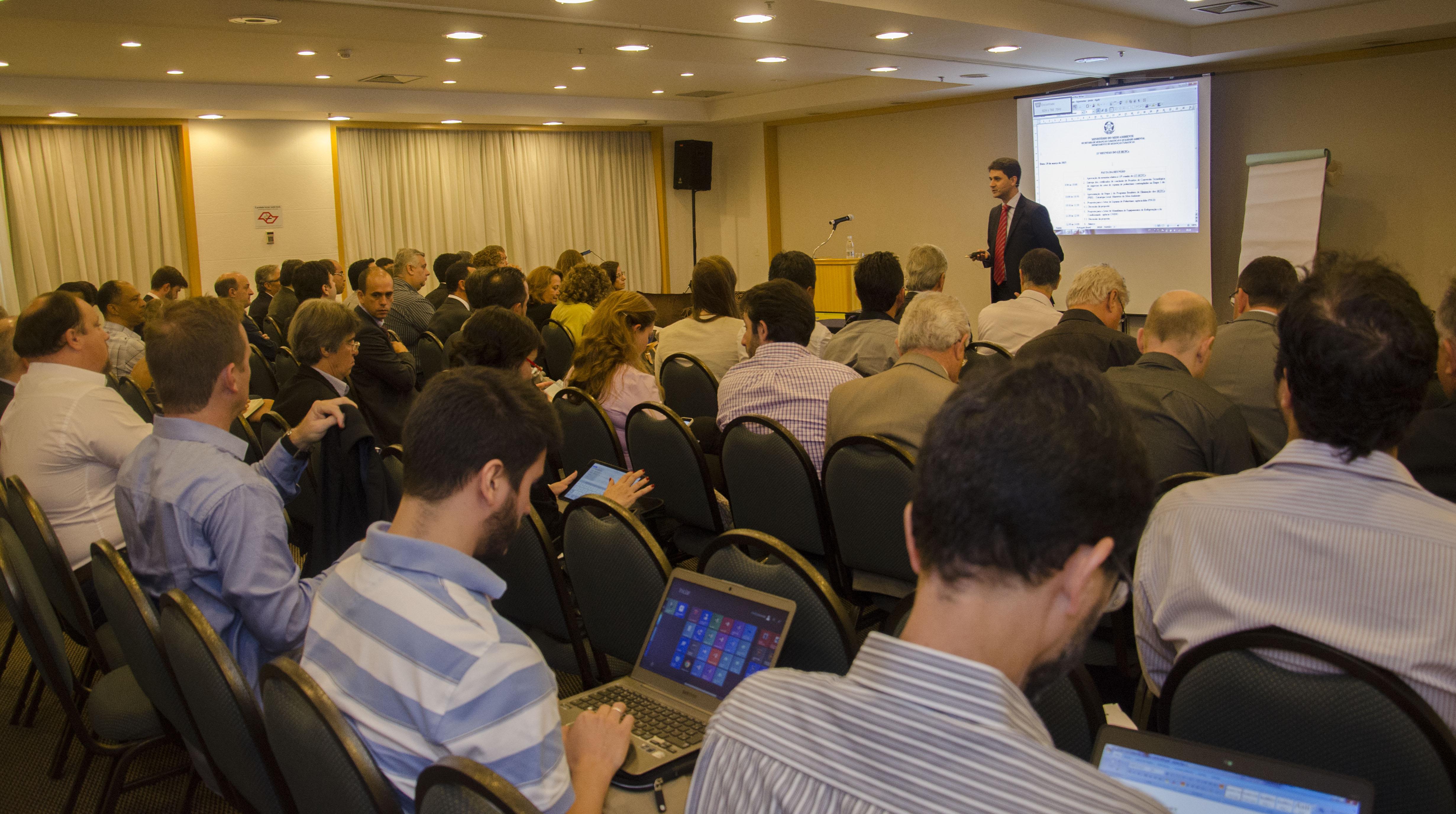 GT HCFC se reuniu em São Paulo para debater novas ações de eliminação dos HCFCs