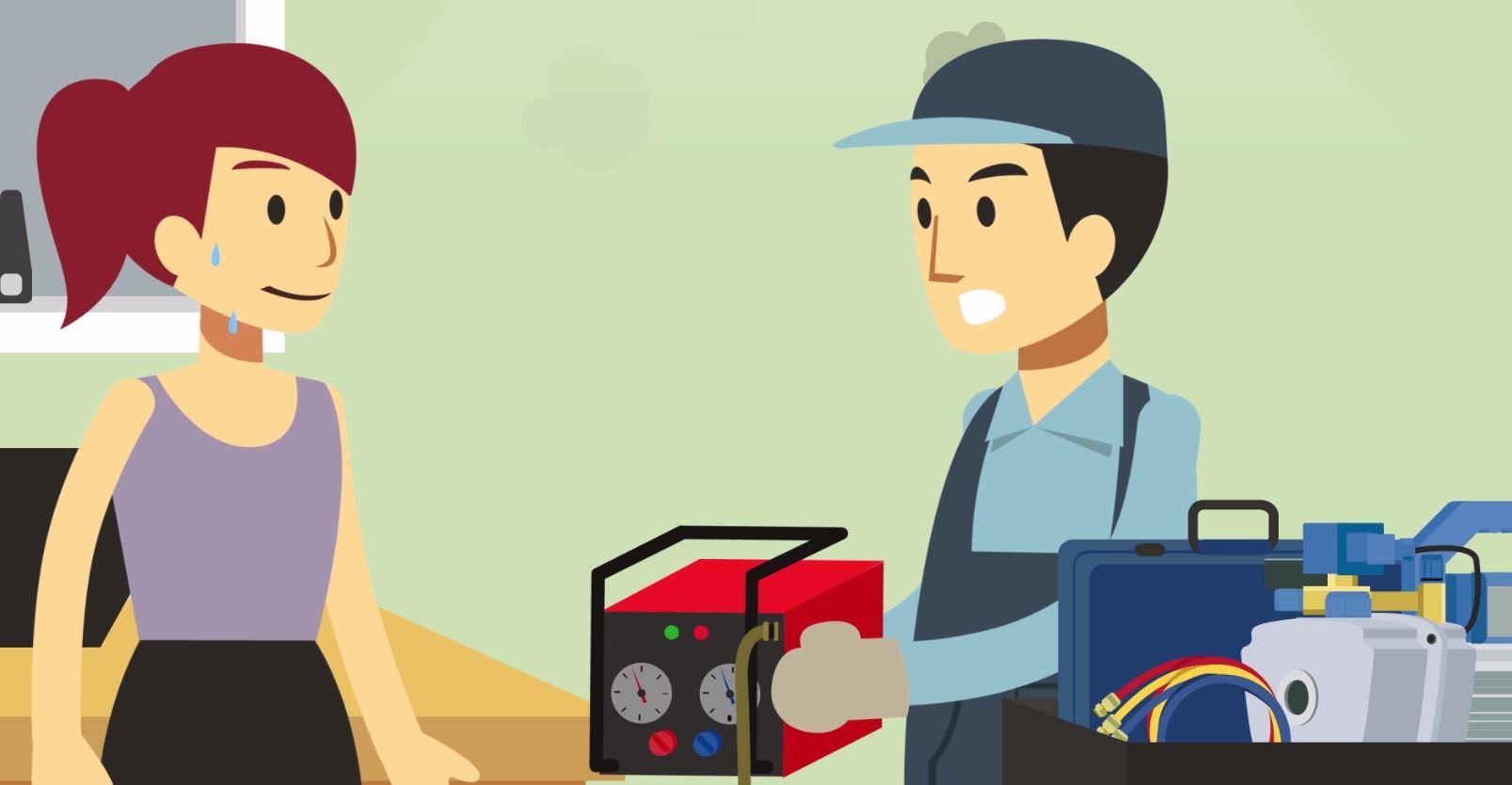 Vídeo animado mostra a importância das boas práticas na manutenção dos sistemas RAC