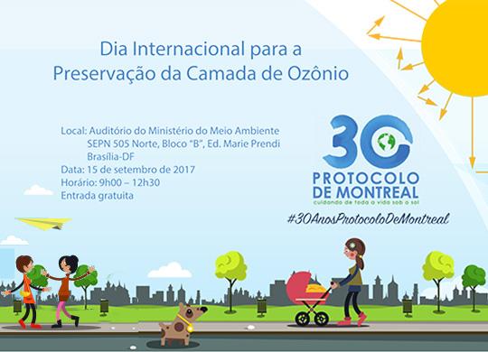 Brasil celebra ações para preservação da camada de ozônio em comemoração aos 30 anos do Protocolo de Montreal