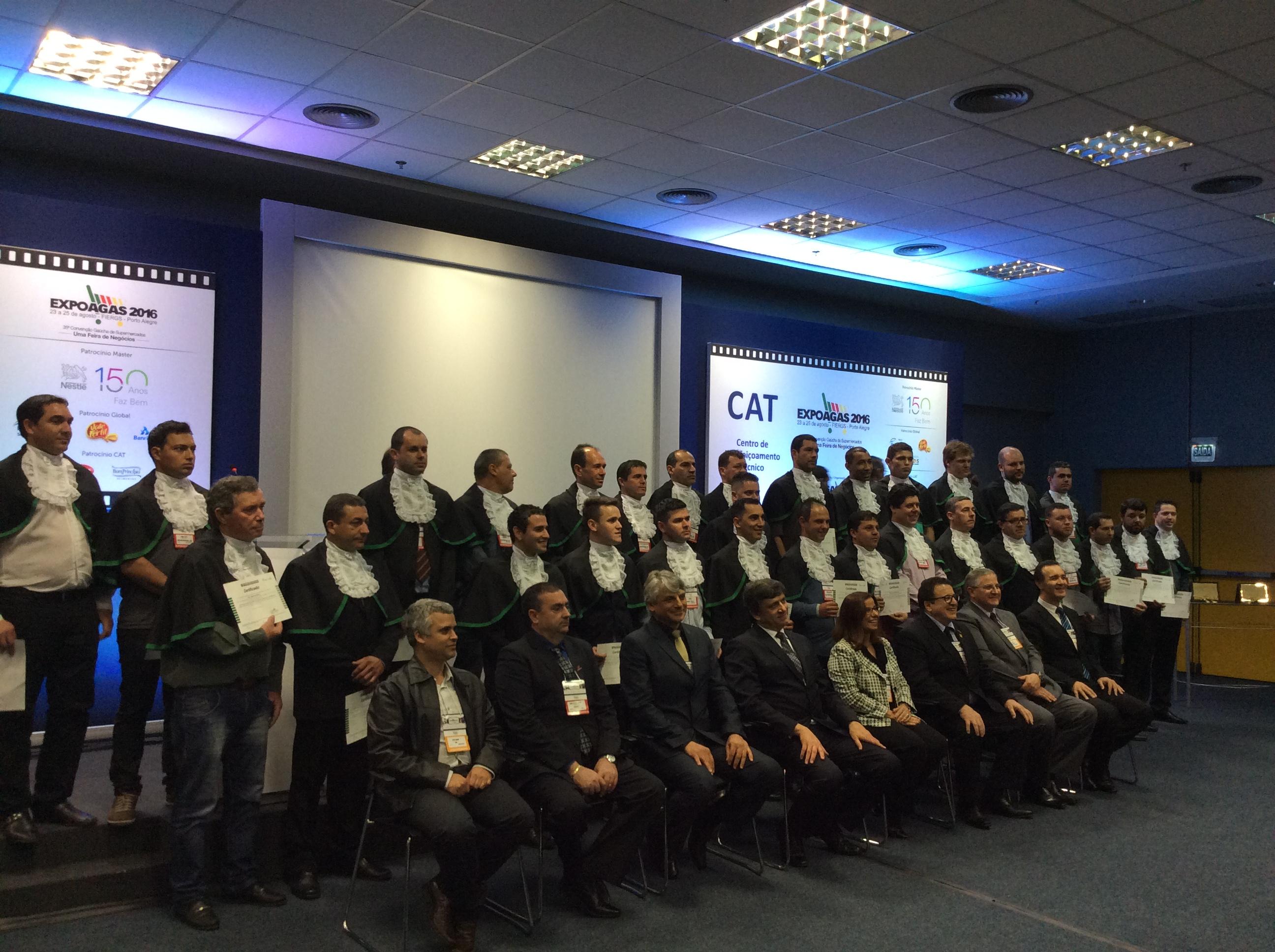 Expoagas 2016 recebe formatura do curso de Boas Práticas em Refrigeração